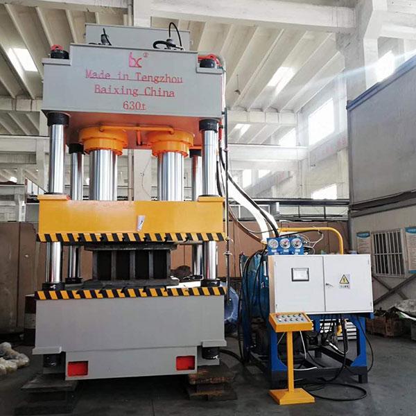 石英石水槽液压机