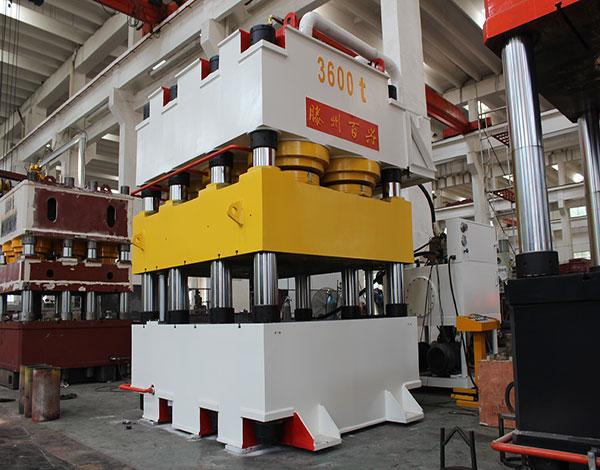 3600吨压花机