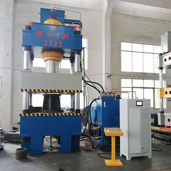 500吨不锈钢水箱拉伸机