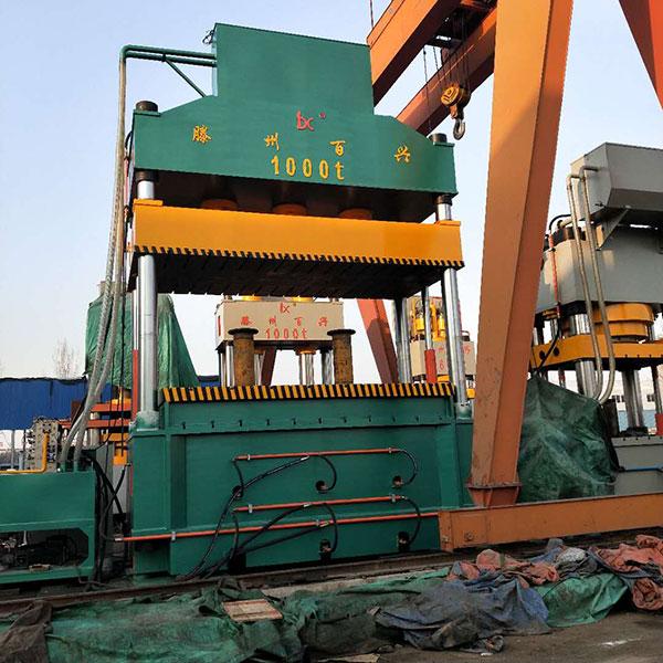 1000吨四柱液压拉伸机