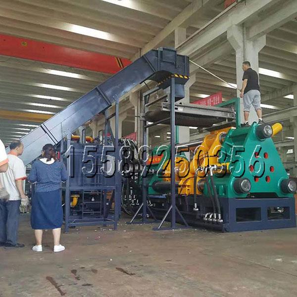 1250吨铁屑打饼机