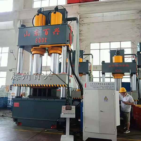 800吨复合材料模压机